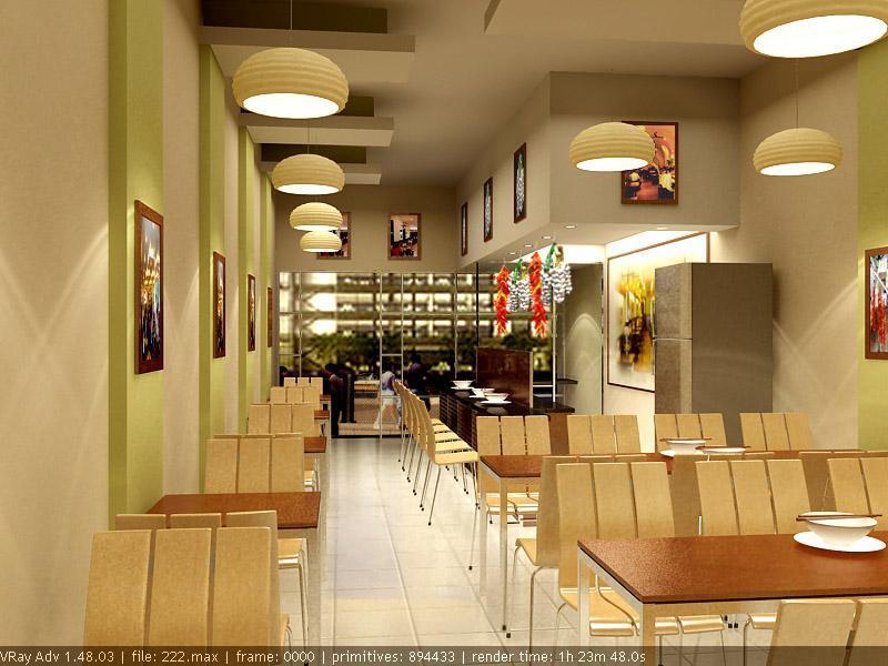 Nội thất nhà hàng
